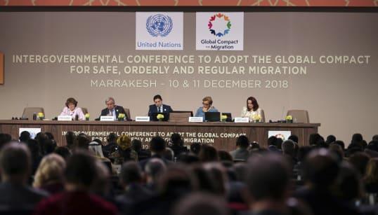Le pacte de Marrakech sur les migrations formellement