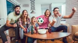 La comida, el futbol y el