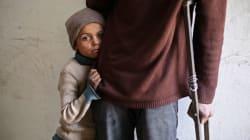 Niños, hombres y ancianos sirios, también son víctimas de violencia