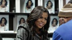 Michelle Obama annule sa visite à Paris pour assister aux obsèques de George