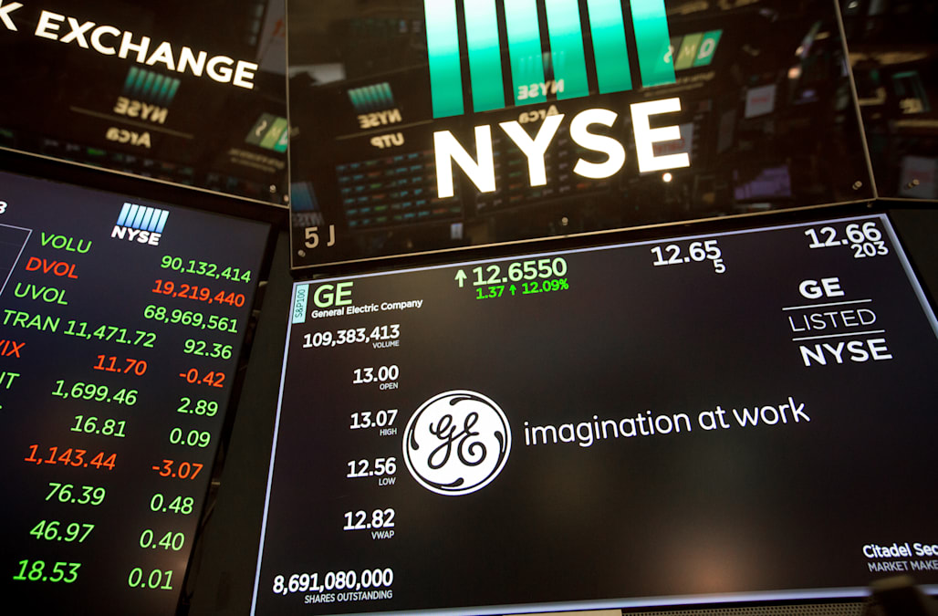 General Electric plunges to its lowest level since the financial