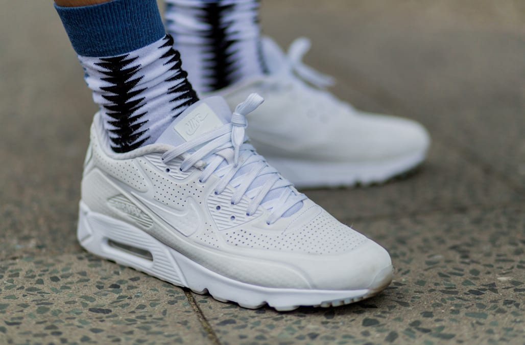 The Nike Air Max first launched in 1987. Originally designed by Tinker  Hatfield, the iconic sneaker has seen an evolution of styles over the years.