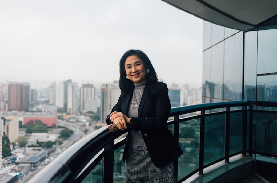 Chieko Aoki fundou rede de hotéis Blue Tree há mais de duas décadas.
