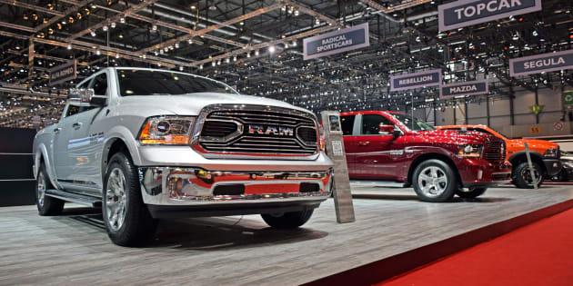 Le Dodge RAM est l'un des camions les plus vendus aux États-Unis.