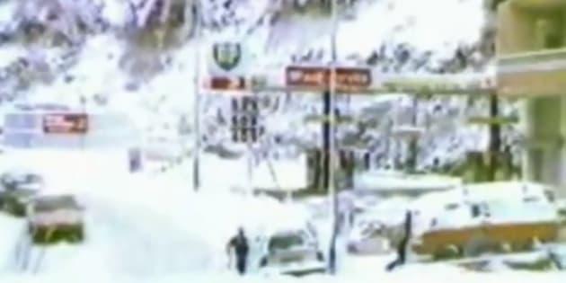 Alizée sort les images d'archives et vous montre à quoi ressemblait la ville d'Ajaccio sous la neige en 1986.