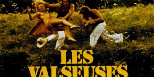 """L'affiche du film """"Les valseuses"""" de Bertrand Blier qui a lancé la carrière de Gérard Depardieu."""
