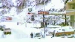 Alizée sort les images d'archives et vous montre à quoi ressemblait Ajaccio sous la neige en