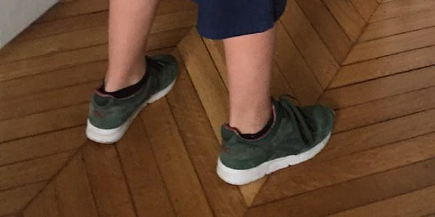 Pour la journée de la jupe, le fils de Sylvie Testud a trouvé une combine