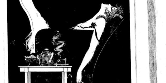 Quand fumer était une preuve de féminisme (Une Le journal amusant 1920)