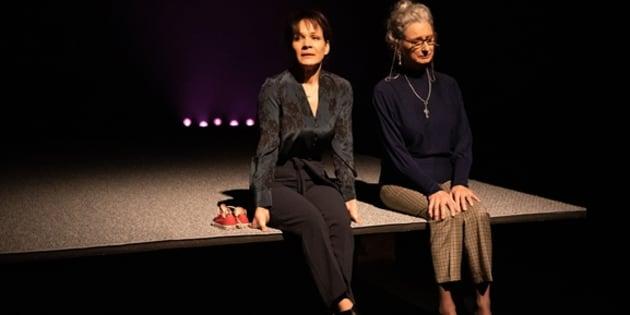 Sandrine Bisson et Pierrette Robitaille tiennent la vedette dans «Le Terrier».