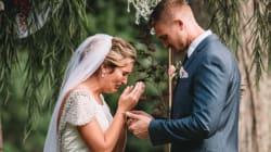L'histoire derrière cette photo de mariage est à fendre le