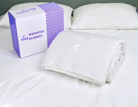 This weighted blanket is the key to better sleep