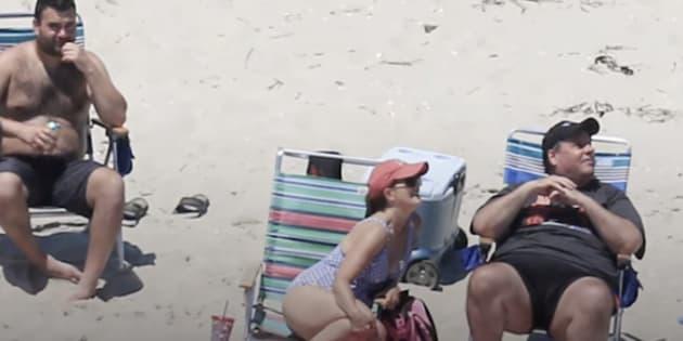 Gobernador de New Jersey cierra una playa para el solo