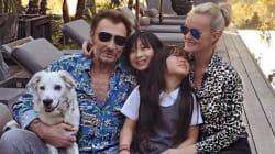 L'adorable message de la fille de Johnny Hallyday à son papa qui se bat contre le