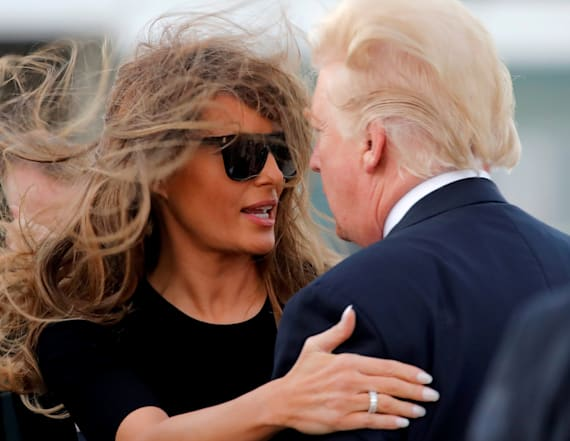 Donald and Melania Trump's most awkward moments