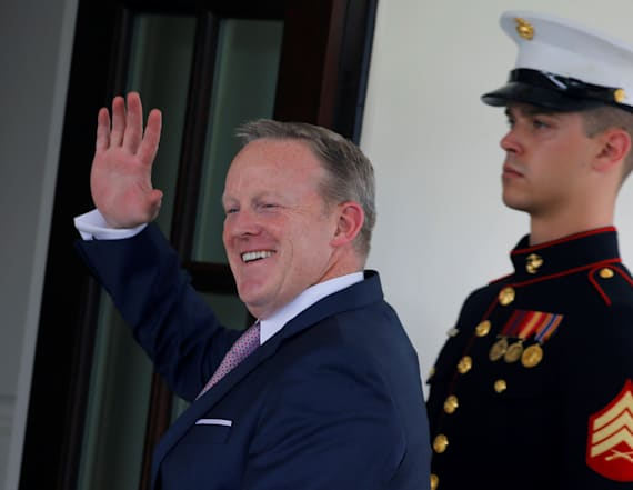 Why Sean Spicer is really leaving the White House