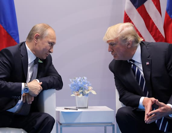 Kremlin denies secret meeting between Trump, Putin