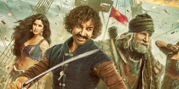 A still from Thugs of Hindostan.