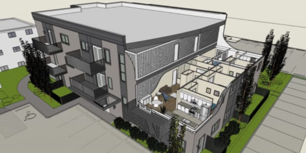 Edmonton\'s New Shipping Container Apartment Almost Ready To Go