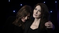 Carla Bruni est désormais aux côtés de Nicolas Sarkozy au musée