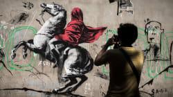Ils partagent des graffitis sans intérêt pour se moquer de ceux qui voient Banksy