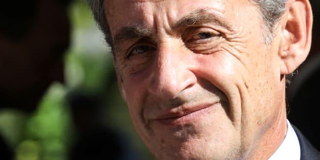 Nicolas Sarkozy à Paris le 19 septembre 2018.