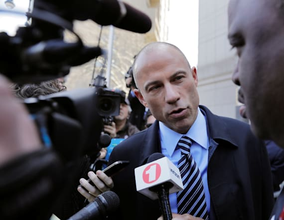 Daniels' lawyer turns up the heat on another target