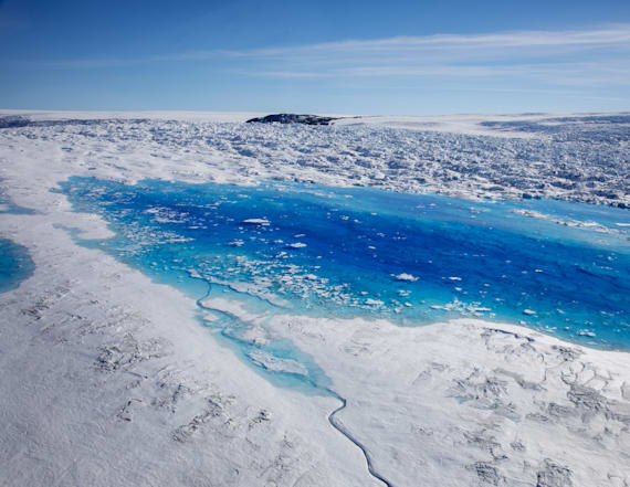 Glacier collapse reveals climate impact in Greenland