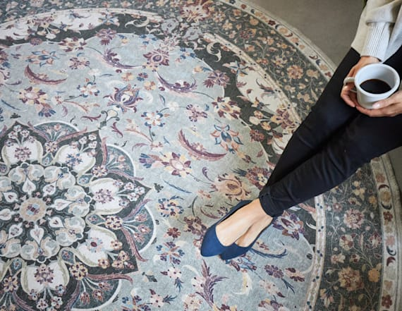 These machine-washable rugs are a quick room upgrade