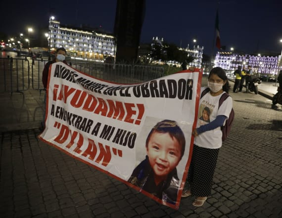 Missing toddler found in Mexico, returned to mom