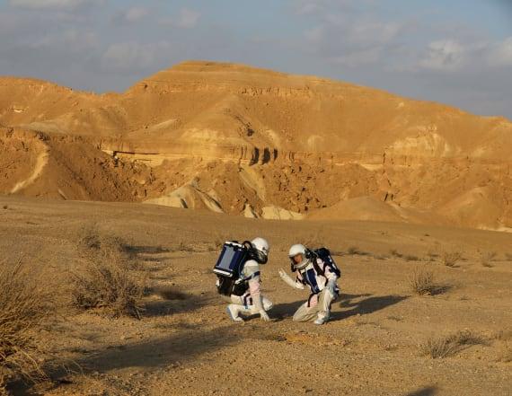Scientists complete mock Mars mission in desert