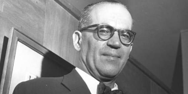 O escritor João Guimarães Rosa.