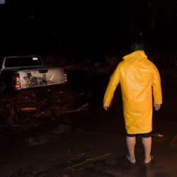 Tormenta tropical Vicente deja mil viviendas afectadas en