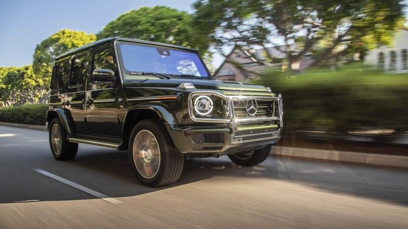 2019 Mercedes-Benz G 550 Drivers