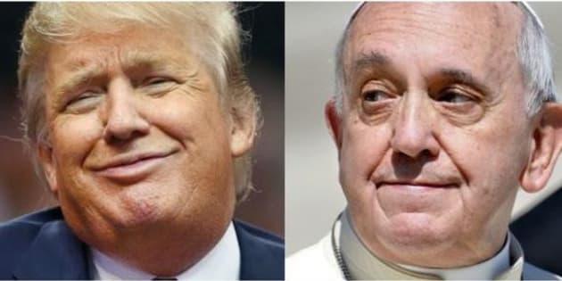 Trump in Vaticano da Bergoglio