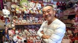 Cet ex-policier a la plus grande collection Hello Kitty au