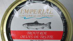 Mise à jour sur le rappel d'oeufs de truite Imperial Caviar & Seafood et VIP Caviar