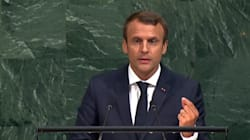 A l'Onu, Macron promet une initiative contre