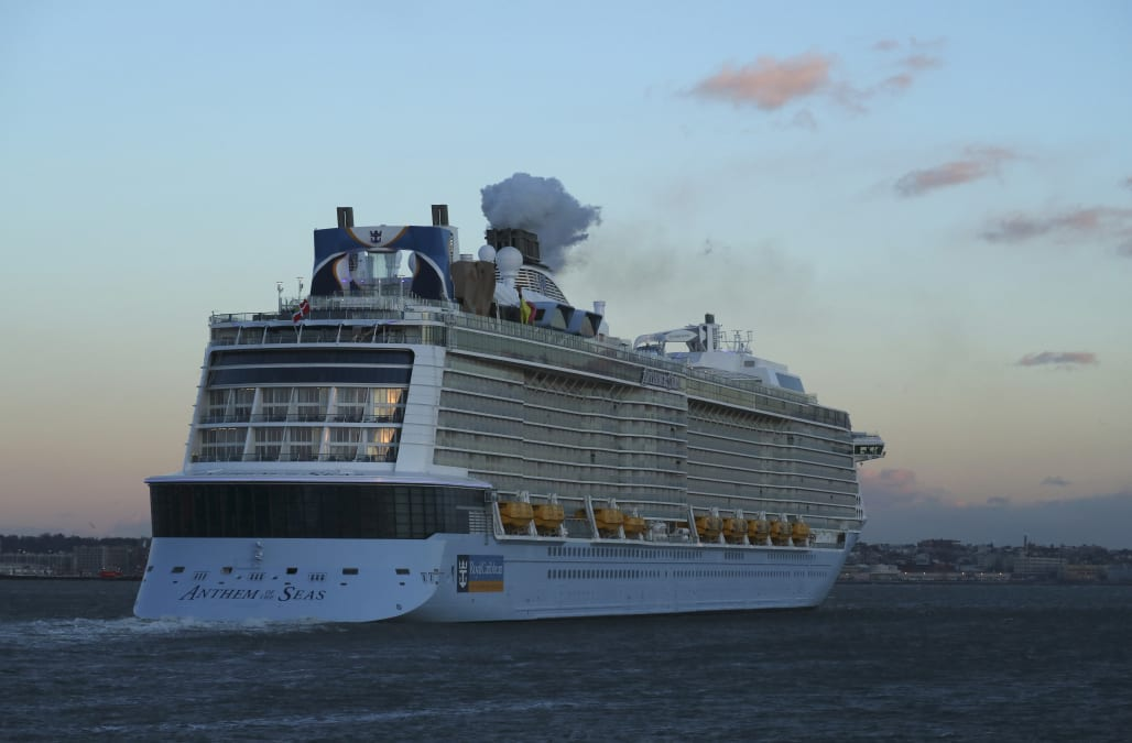 Thousands Stranded On Cruise Ships In The Gulf By Harvey AOL Weather - Cruise ships images