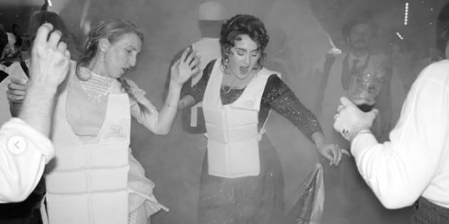 """Adele a fêté ses 30 ans en mode """"Titanic""""."""