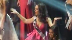 Au concours Miss Univers, Miss Pays-Bas s'est lâchée sur du