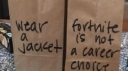 Mom's Snarky Lunch Bags Say What Every Parent Is