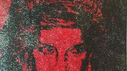 Este retrato de la princesa Diana fue hecho con sangre infectada con