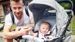 Il campione di pallavolo Ivan Zaytsev vaccina la figlia e i social lo