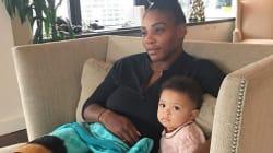 La figlia di Serena Williams ha fatto la cosa più dolce per consolare la mamma dopo la