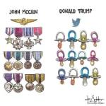 La réponse de Meghan McCain aux attaques de Trump sur son