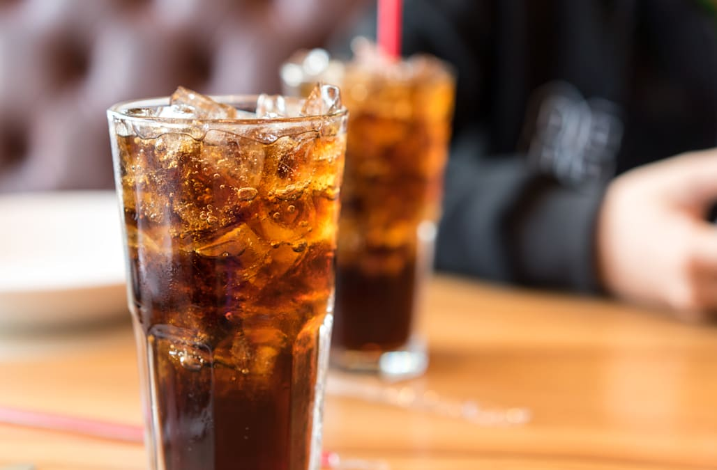 People who drink diet soda may be at a higher risk for heart