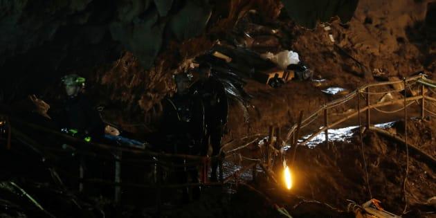 Grotte en Thaïlande: tous les enfants et leur entraîneur prisonniers de la grotte ont été évacués