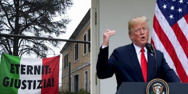Un consigliere di Casale Monferrato scrive a Trump |   L' amianto è pericoloso |  non