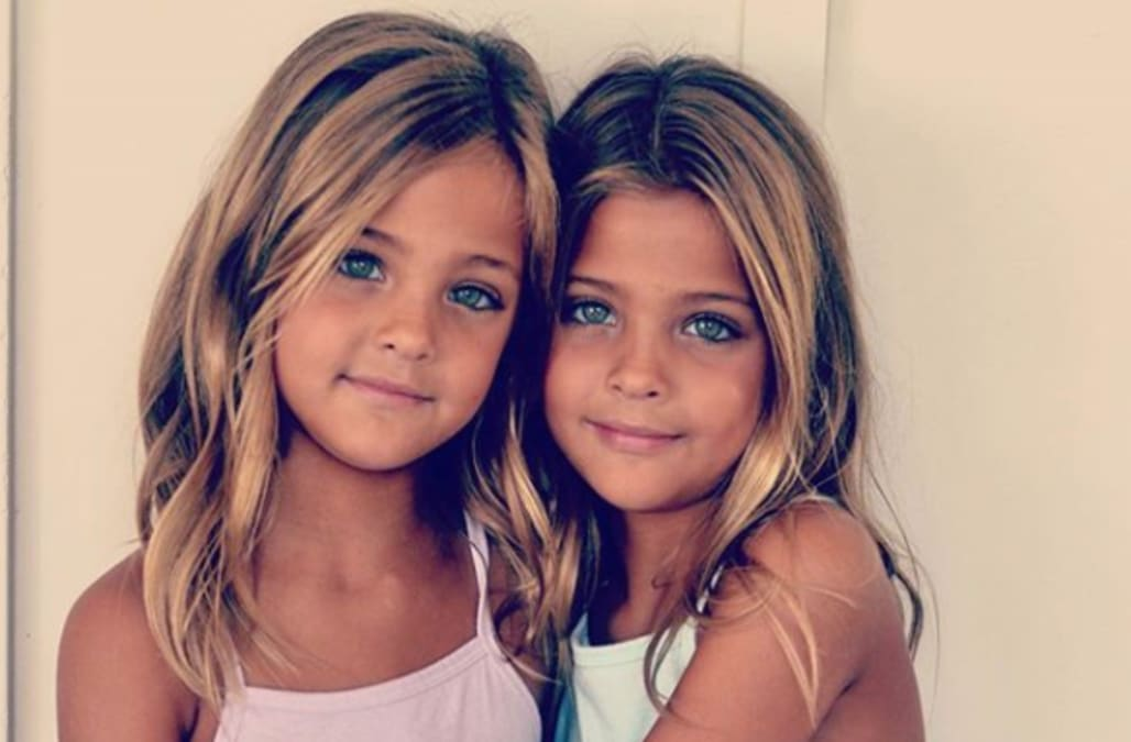 d9e0e08c5 Meet the Clements twins -- the 'most beautiful twins in the world ...